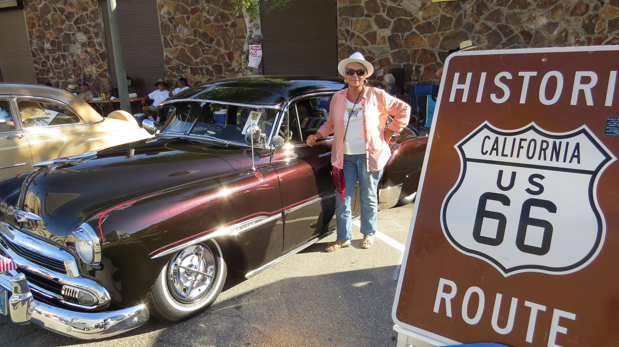 Th Annual Rendezvous Back To Route Car Show Downtown San - Route 66 cruisers car show list