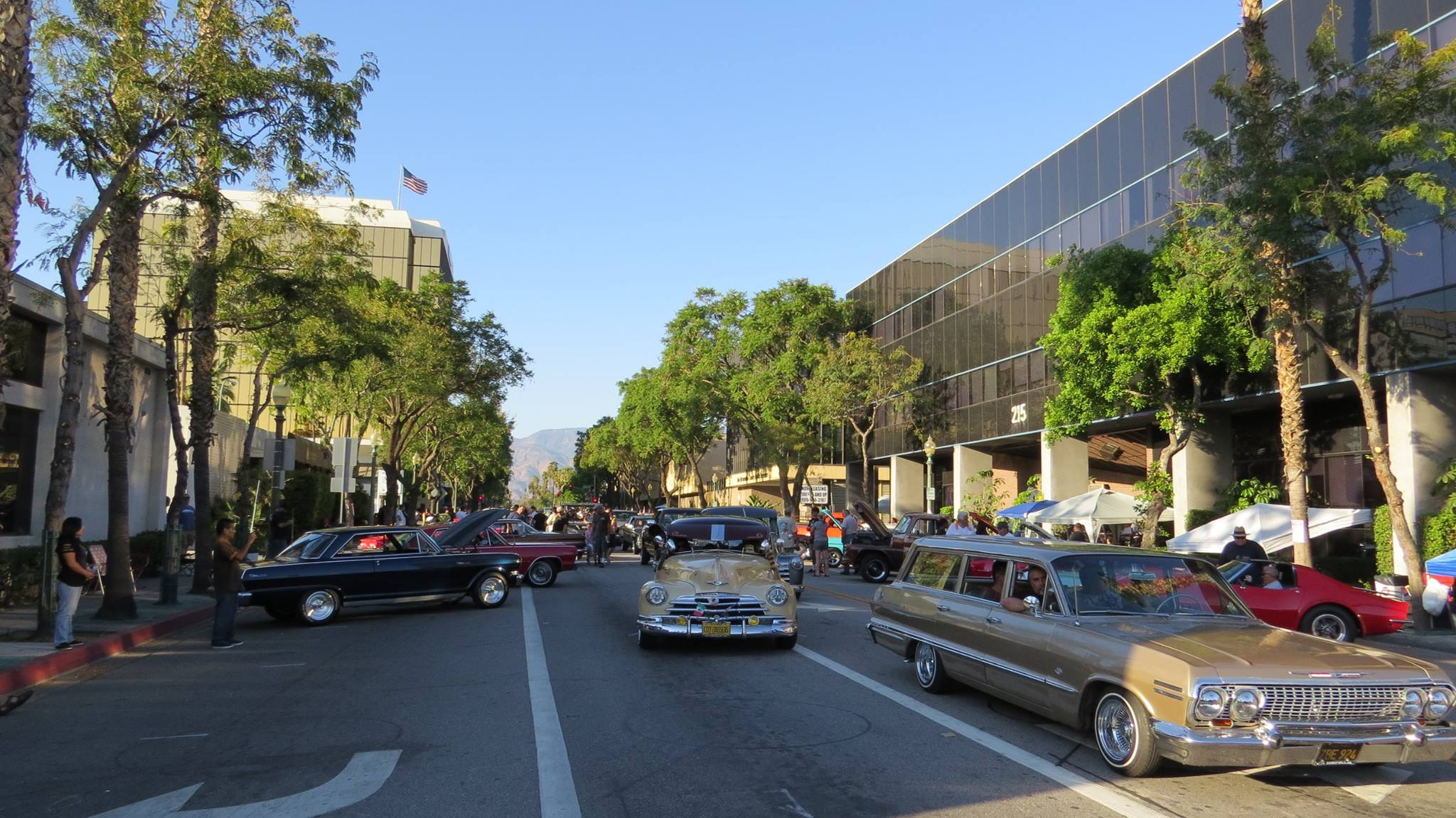7th Annual Rendezvous Back to Route 66 Car Show | Downtown San