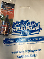 Surf City Garage Goodie Bags